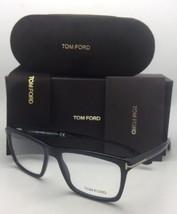 Brand New TOM FORD Eyeglasses TF 5407 001 54-16 Shiny Black Rectangular Frames