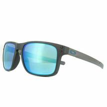 Oakley Sunglasses Holbrook Mix OO9384-10 Steel Prizm Sapphire Polarized - $148.49