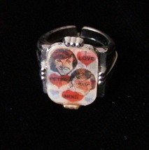 The Monkees 3d Lenticular Flicker Ring - $29.99