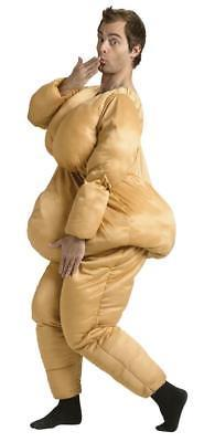 Fat Suit Costume Adult Saggy Overweight Halloween Funny Unique FW119204