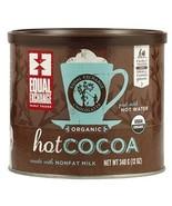 Equal Exchange Organic Hot Cocoa  6x12 OZ  Value Bulk Multi-pack - $54.70