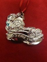 Gorham Sterling Silver Baby's First Christmas Ornament 1997  - $31.50