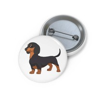 Dachshund Custom Pin Buttons - $9.00