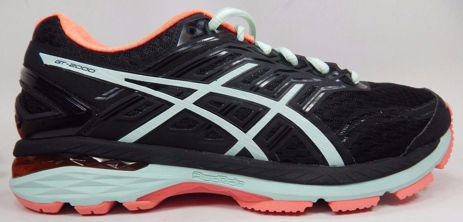 Asics GT 2000 v 5 Women's Running Shoes Size US 9 M (B) EU 40.5 Black T757N