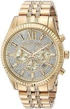 Michael Kors Lexington Chronograph Watch (Gold) - $1,285.37