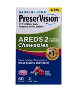 Preservision Areds 2 Formula Chewables, 60 Count - $20.17