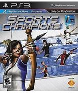 Sports Champions (Sony PlayStation 3, 2010) GOOD - $3.76