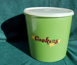 Vintage Eagle Super Seal Brand Cookie Jar Green... - $19.79