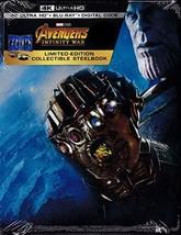 Avengers: Infinity War [Best Buy SteelBook] [4K Ultra HD/Blu-ray]