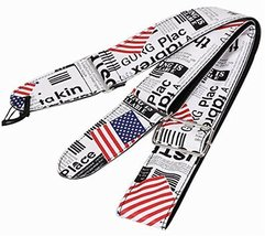Durable Guitar Equipment Adjustable Guitar Strap Graffiti Shoulder Strap - $16.29