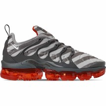 Men's Nike Air VaporMax Plus Running Shoes Wolf Grey/White/Dark Grey/Tea... - $220.92