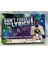 Don't Forget The Lyrics! Board Game Parker Brothers  - $7.91