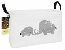 Hunrung Rectangle Storage Basket Cute Canvas Organizer Bin For Pet/Kids ... - £11.56 GBP