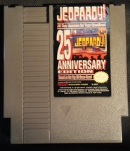 Jeopardy! : 25th Anniversary Edition (Nintendo NES, 1990) - Game Cartrid... - $4.99