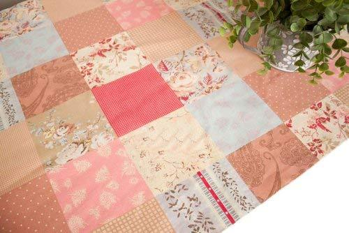 [Autumn] 57'' Wide HOME Handmade Fabrics Stitching Linen Fabric (1957 Inch)