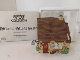 DEPT 56 58331 WRENBURY BAKER BUILDING HERITAGE VILLAGE NO CORD D10 - $14.65