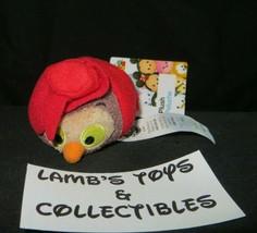 "Disney Store Authentic USA Sleeping Beauty Owl in Cape tsum tsum 3.5"" mi... - $14.24"