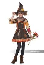 California Trajes Patchwork Espantapájaros Otoño Niña Disfraz Halloween ... - $30.37