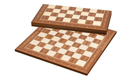 High quality FOLDING tournament size Wood chess board Bonn 50 mm - 2 inch - $87.12