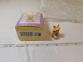 1995 1996 Hallmark Easter Merry Miniature Easter NOS NIB Blue Ribbon Bunny - $15.93