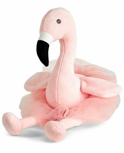 Primary image for First Impressions Plush Macy's Stuffed Animal Bird Pink Flamingo Tutu Ballerina