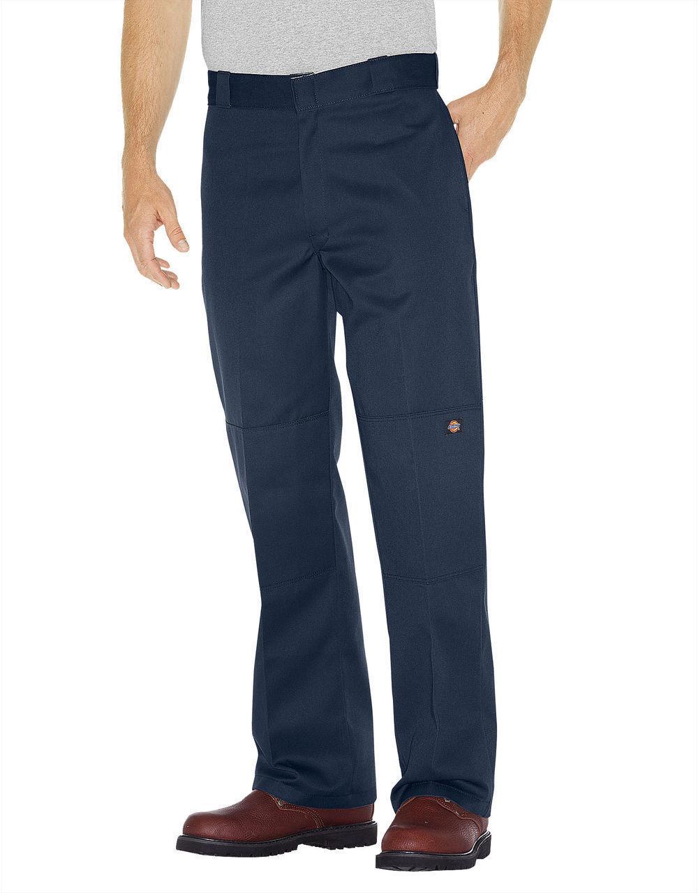 Dickies Original Loose Fit Double Knee Work Pants - Navy - $27.71 - $32.66