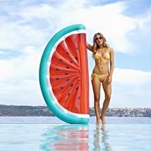 Giant Watermelon Pool Float Mattress Sunbathe Beach Mat Air PVC 180 Cm F... - €38,15 EUR