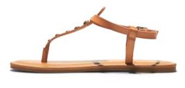 NEW Universal Thread Women's Kylianne Vegan Summer Thong Sandals Tan image 2
