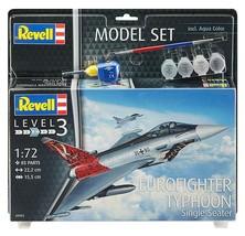 Revell 1/72 Eurofighter Typhoon Single Seater Model Kit + Paint & Glue - $29.00