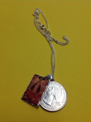 Sterling Silver Nuestra Senora De Suyapa Medal 3//4 Inch Size of a Nickel