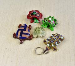 Sea turtles,Figurines,Set of 5 - $16.00