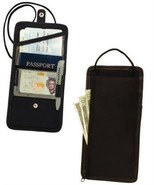 Travelon Travel Boarding Pass Holder and Passport ID Wallet Black color - $10.57