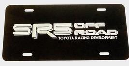 Toyota SR5 Off Road 1 Car Tag Diamond Etched on Black Aluminum License P... - $22.99