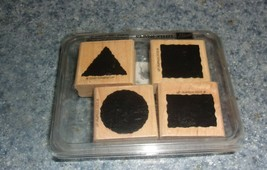 Brand New Stampin Up Little Shapes Set 1998 For Dog Rescue Charity - $8.99