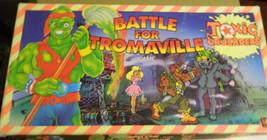 Battle for Tromaville Board Game-Complete - $16.00