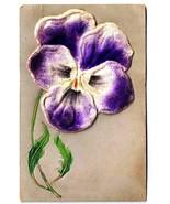 Flower Postcard Applied Iris - $7.59