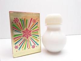 Avon Wishing Powder Sachet .9 oz Horseshoe Bottle Holiday Box Vintage - $9.99