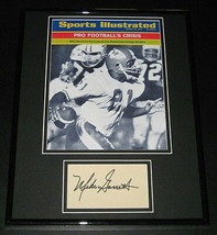 Mike Garrett USC Signed Framed 11x14 Photo Display USC Heisman Winner - $42.18