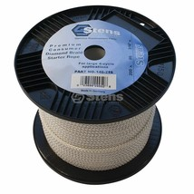 "145-716 Stens 200' length 3/16"" diameter Diamond Braid Starter Rope #6 r... - $29.69"