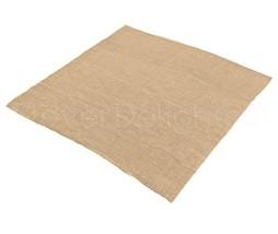 """CleverDelights Square Burlap Tablecloth -- 60"""" x 60"""" -- Premium Jute Bur... - $20.99"""