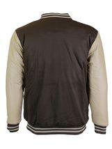 New Men's Premium Classic Snap Button Vintage Baseball Letterman Varsity Jacket image 10