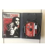 TRUE CRIME STREETS OF LA  PLAYSTATION 2 USED w/ CASE - $8.59
