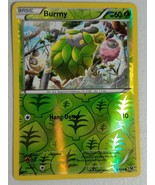 Pokemon XY Series Fates Collide - Burmy (Reverse Holo) - $2.00