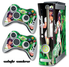 Skin Decal Wrap for Xbox 360 Original Gaming Console & Controller WHITE ... - $9.85