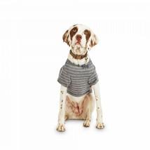Reddy Grey Striped Jersey Crewneck Dog T-Shirt, Small By: Reddy - $14.01