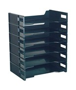 Innovative Storage Designs Stackable Letter Trays, Black, Pack of 6 - $19.92