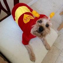 2 DOG costume small El Chapulín Colorado & Batman pj's - $19.34