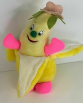 "Goffa International Yellow and Hot Pink  Banana Girl 11""  Plush Flower o... - $19.75"