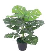 """Artificial Monstera Plant with Pot 17.7"""" Green - $39.59"""