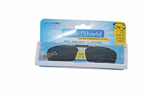 fc34380d18 31vzpyj 2bhcl. sl1500. 31vzpyj 2bhcl. sl1500. Solar Shield Polarized Gray Lens  Clip On Sunglasses 52 Rec A